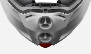 ventilacion barbilla caberg droid